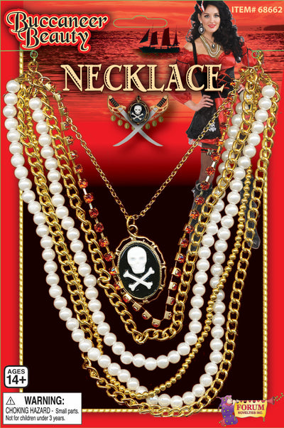 Buccaneer Beauty Cameo Necklace