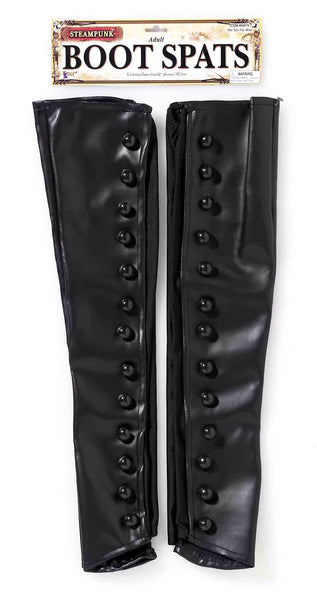 Steampunk Boot Spats