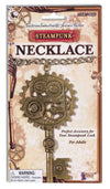 Steampunk Copper Key/Gear Necklace