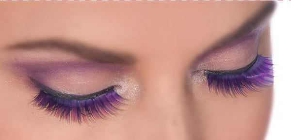 Deep Purple Fairy Eyelashes