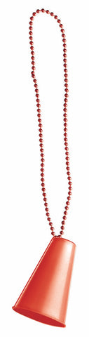 "33"" Megaphone Beads Red"