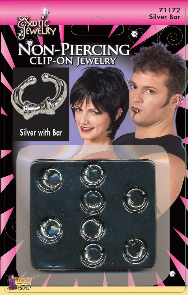 Body Piercing Bar Silver