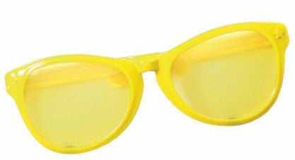 Jumbo Glasses Yellow