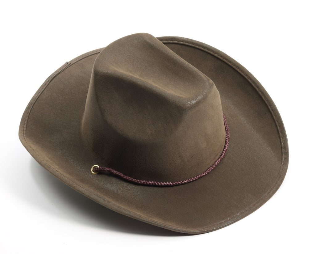 Cowboy Hat Brown Suede