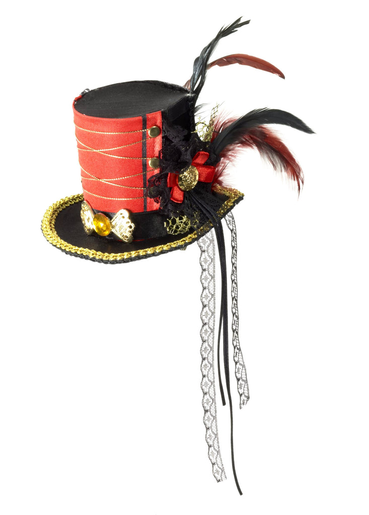 Twisted Attraction Mini Top Hat