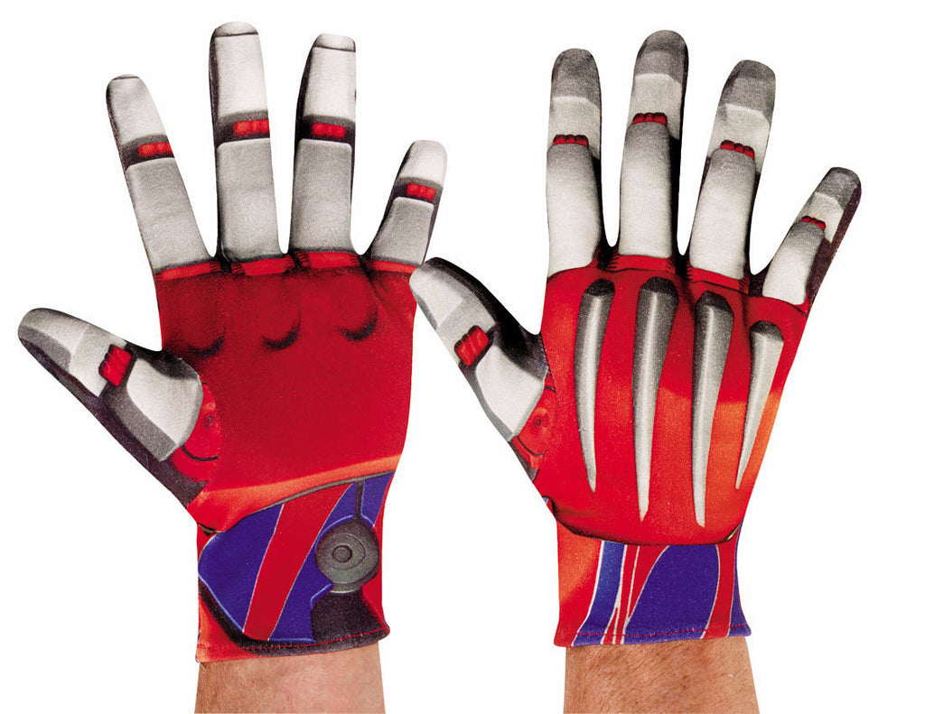 Optimus Prime Gloves