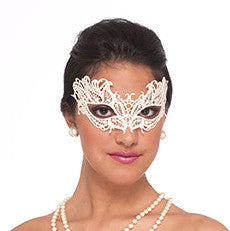 Lace Mask White