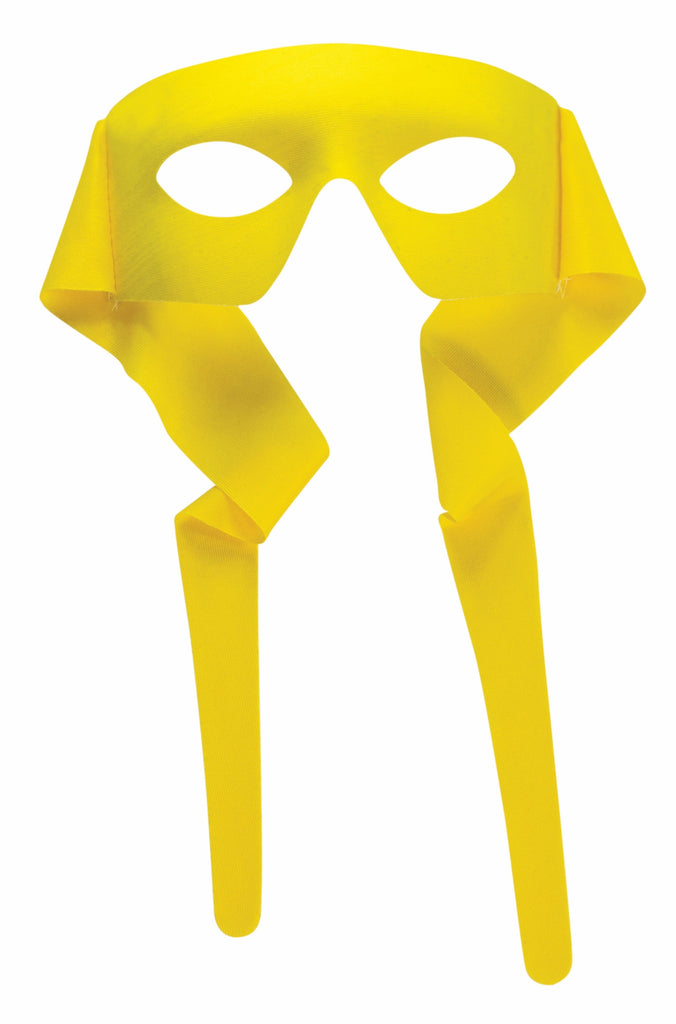 Large Masked Man with Ties Yellow