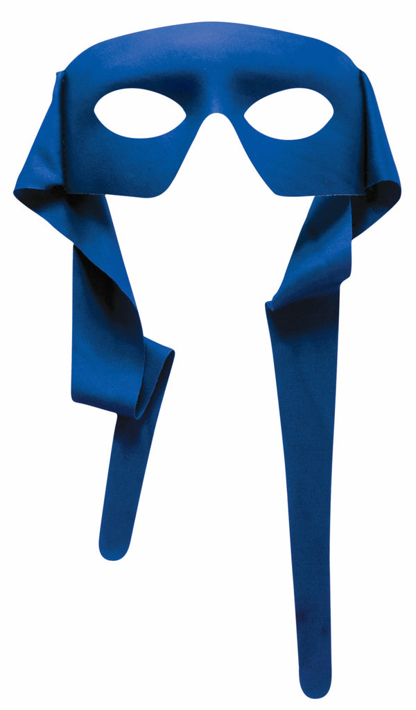 Large Masked Man with Ties Blue