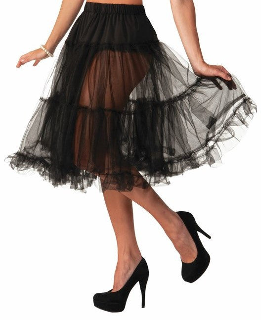50's Crinoline Skirt Black