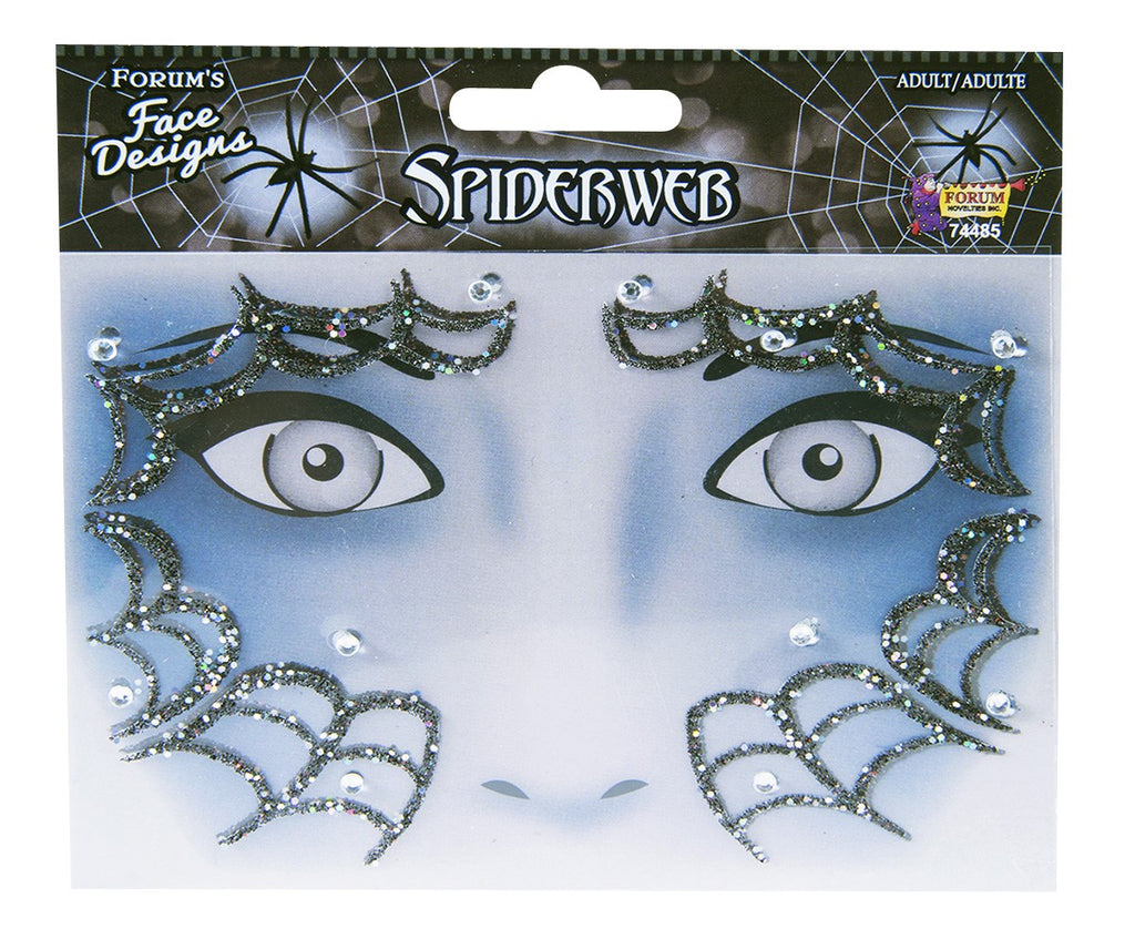 Face Designs Spider Web