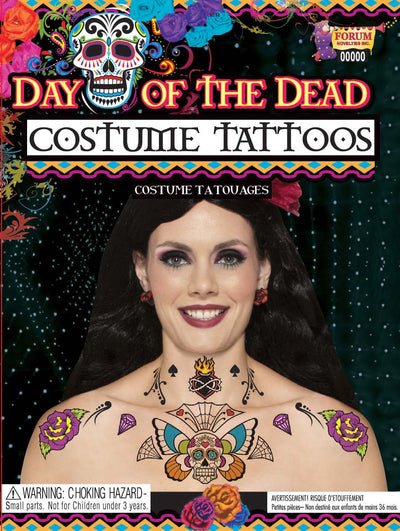 Day of the Dead Tattoo Body/Chest