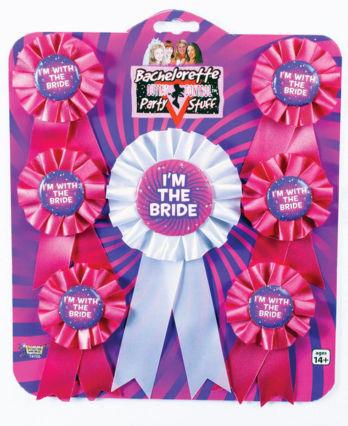 Bachelorette Award Ribbons (7 Pc Set)