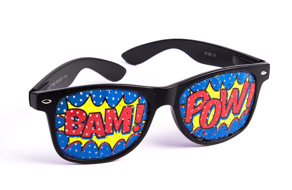 """Pow"" Screened Sunglasses"