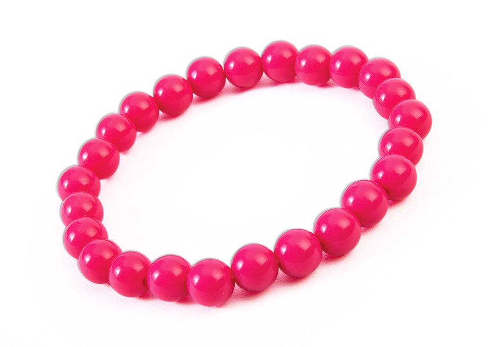 Red Big Pearls Bracelet