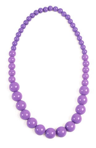 Pop Art Lavender Necklace