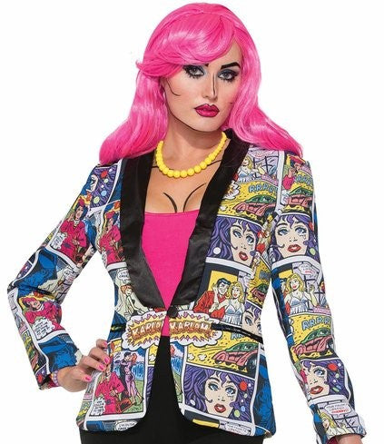 Pop Art Female Blazer