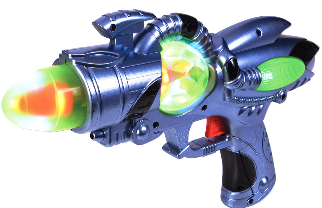 Light Up Space Man Gun