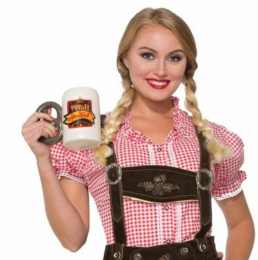 Lederhosen Shirt Red Gingham