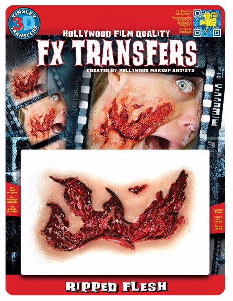 3D FX Transfers ''Ripped Flesh''