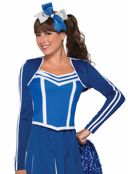 Cheeleader Shrug Blue