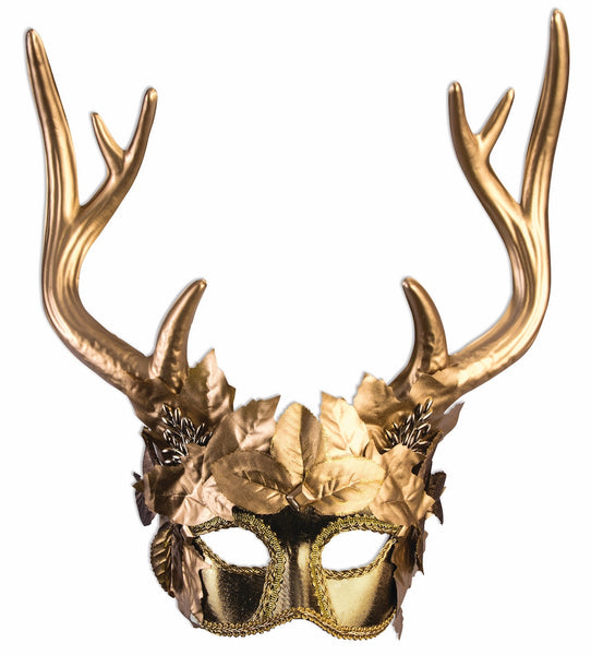 Golden Faun Mask