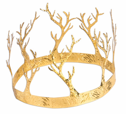Medieval Crown Of Antlers