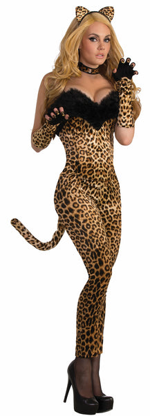 Leopard Leggings with Tail