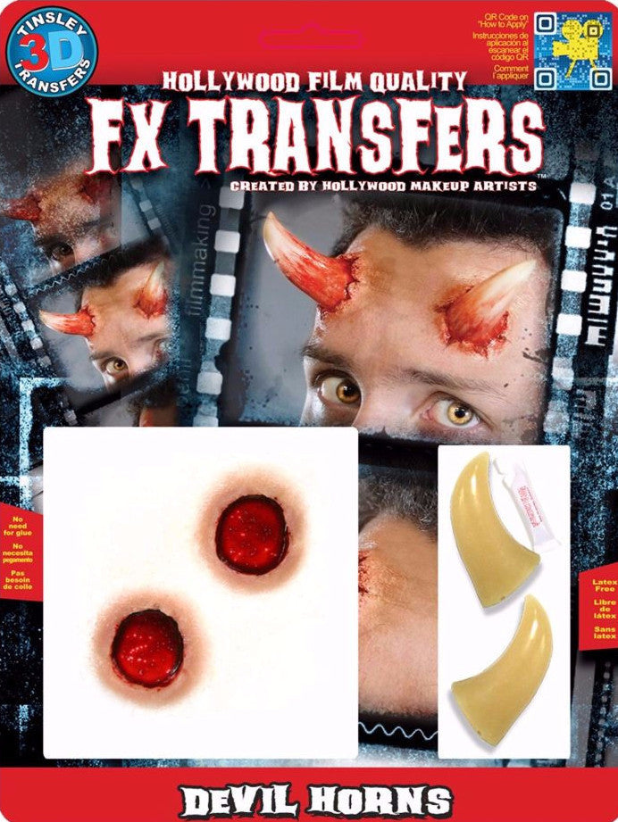 3D FX Transfers ''Devil Horns''