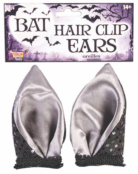 Bat Hairclips