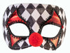 Checkered Clown Mask