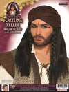 Fortune Teller Wig Black with Scarf