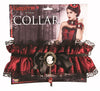 Victorian Collar Black/Red