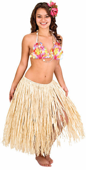 Tan Hula Skirt