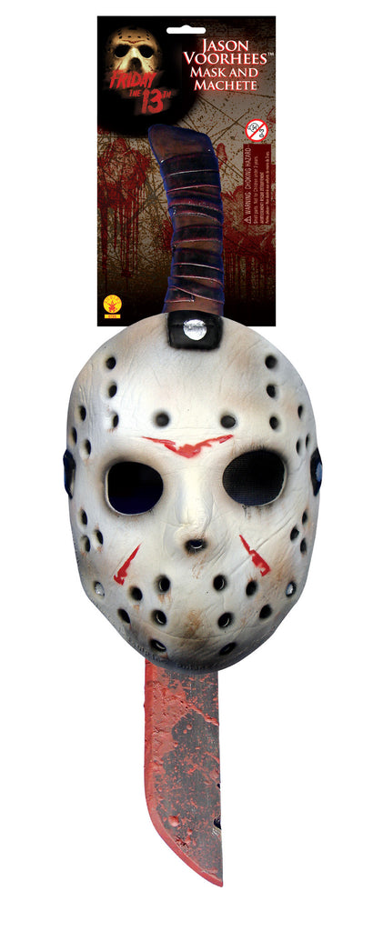 Jason Mask & Machette Set