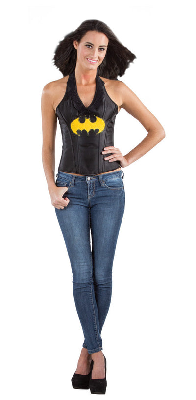 Batgirl Leather Corset