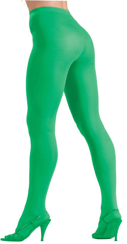 Color Tights Green