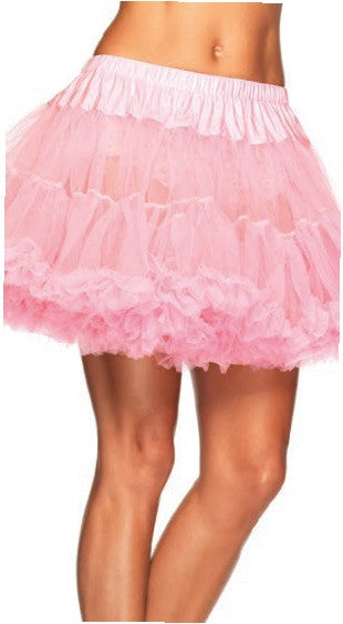 Layered Tulle Petticoat Light Pink