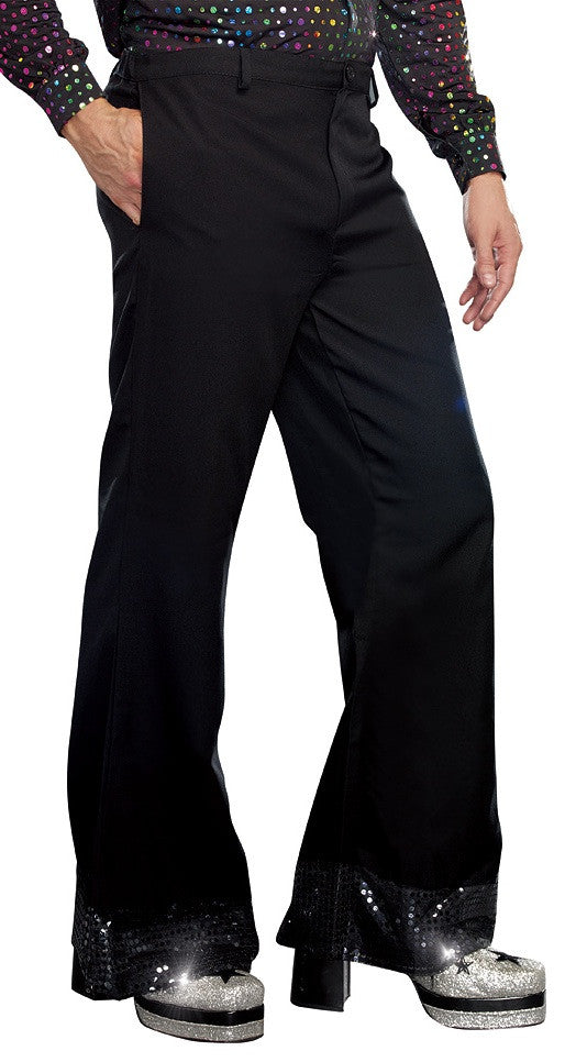 Men's Disco Pants Black