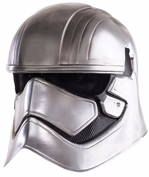 Captain Phasma 2 Piece Mask Silver