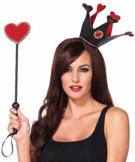 Royal Crown Headband & Heart Scepter