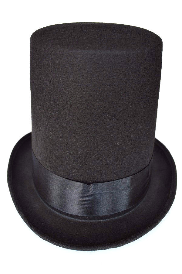 Lincoln Stove Pipe Hat Black