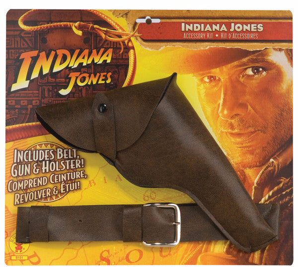 Indiana Jones Belt, Gun and Holster