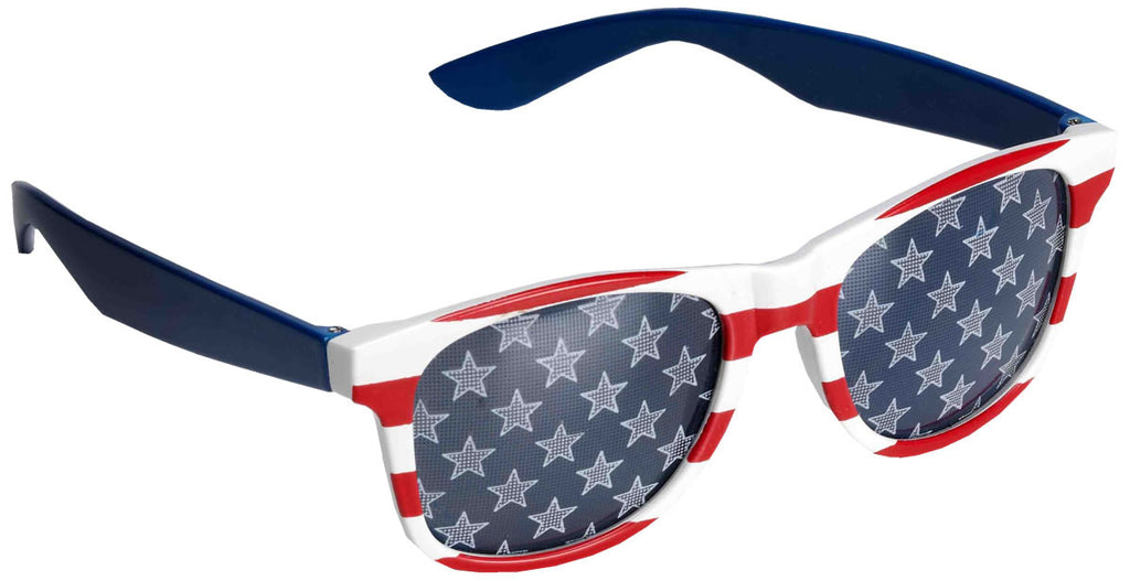 Patriotic Glasses Red/White/Blue