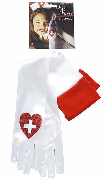 Nurse Satin Gloves