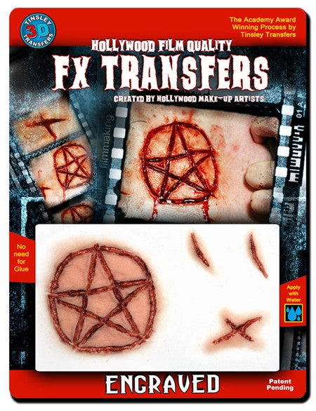 "3D FX Transfers ""Engraved"""