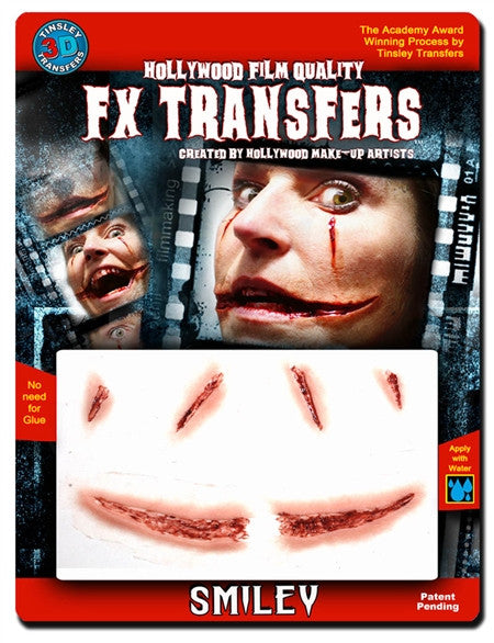 "3D FX Transfers ""Smiley"""