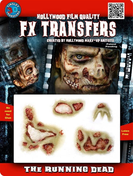"3D FX Transfers ""The Running Dead"""