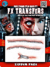 "3D FX Transfers ""Zipper Face"""
