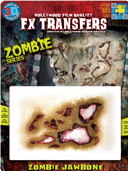 3D FX Transfers ''Zombie Jaw Bone''